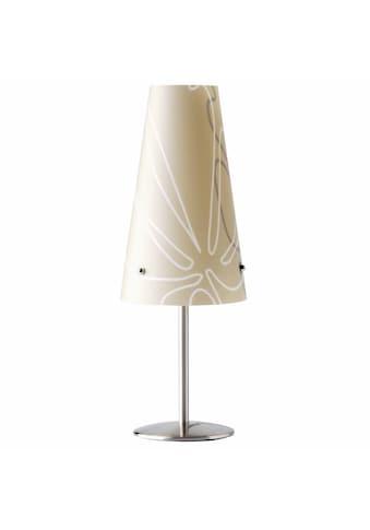Brilliant Leuchten Tischleuchte, E14, Isi Tischleuchte braun kaufen
