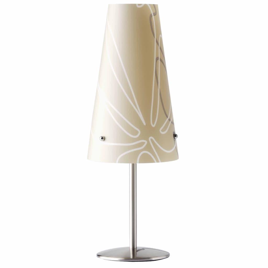 Brilliant Leuchten Tischleuchte, E14, Isi Tischleuchte braun
