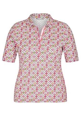 Rabe Kurzarmshirt, mit gepunktetem Muster kaufen