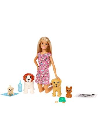 Barbie Anziehpuppe »Hundesitterin und Welpen« kaufen