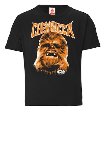 LOGOSHIRT T-Shirt »Star Wars - Chewbacca Face«, mit Wookiee-Frontprint kaufen