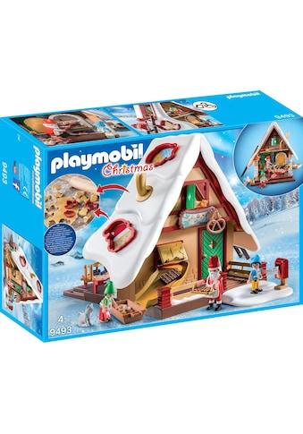 """Playmobil® Konstruktions - Spielset """"Weihnachtsbäckerei mit Plätzchenformen (9493), Christmas"""", Kunststoff kaufen"""