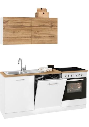 HELD MÖBEL Küchenzeile »Kehl«, ohne E-Geräte, Breite 180 cm kaufen