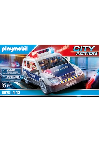 Playmobil® Konstruktions-Spielset »Polizei-Einsatzwagen (6873), City Action«, Made in Germany kaufen