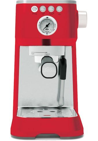 SOLIS OF SWITZERLAND Siebträgermaschine »980.19 Barista Perfetta Plus (Typ 1170) Rot« kaufen