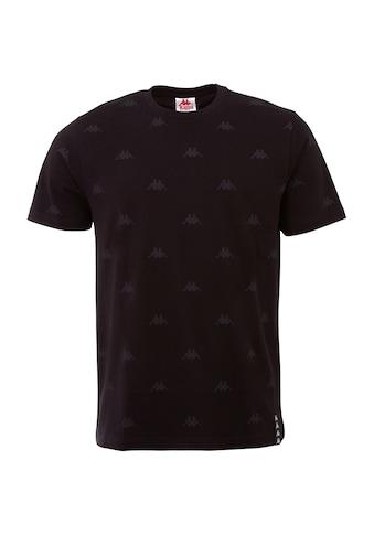 Kappa T-Shirt »IZDOT«, mit modischem Allover-Print<br /> kaufen