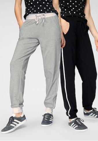 Flashlights Jogger Pants, (Packung, 2er-Pack), mit elastischem Bund und Tunnelzug kaufen