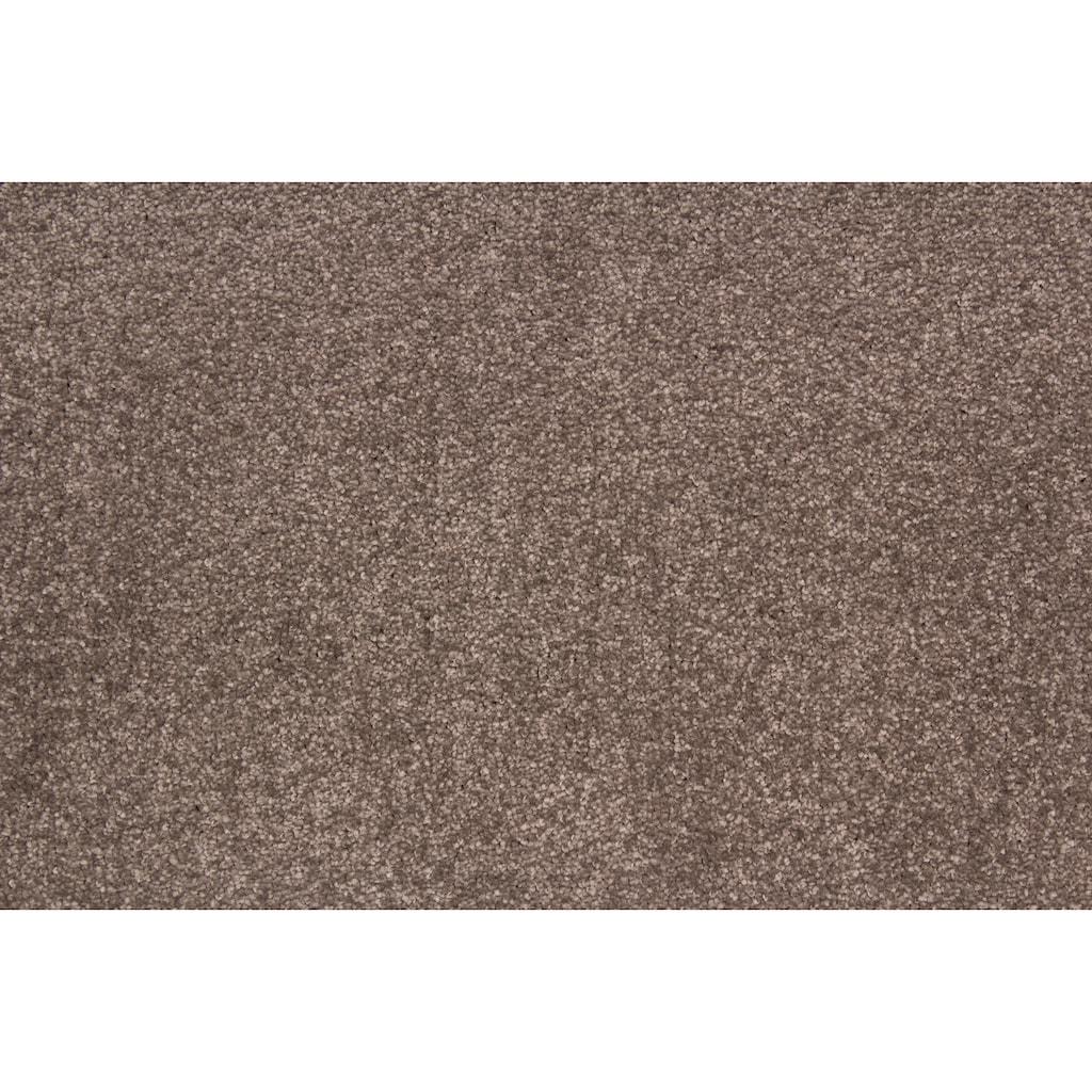 Andiamo Teppichboden »Flora«, rechteckig, 9 mm Höhe, Meterware, Breite 400 cm, uni, Wunschmaßlänge
