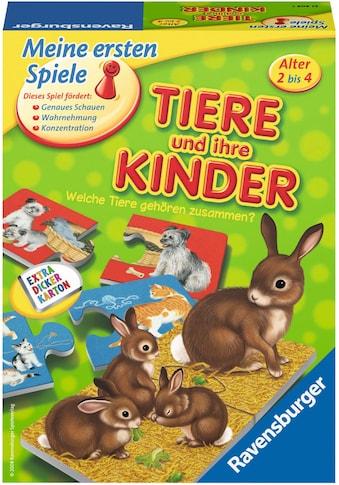 """Ravensburger Spiel, """"Tiere und ihre Kinder"""" kaufen"""