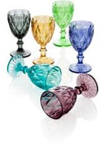"""BRANDANI Weinglas """"Diamante"""" (6 - tlg.) kaufen"""