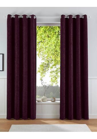 Vorhang, »FINLAY«, Leonique, Ösen 1 Stück kaufen