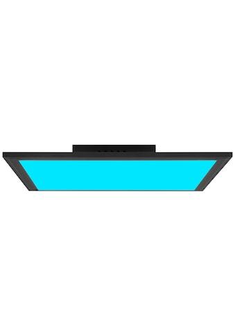 Brilliant Leuchten Deckenleuchten, Abie LED Deckenaufbau-Paneel 40x40cm RGB sand schwarz kaufen