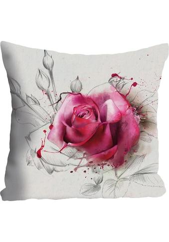 queence Kissenhülle »Rosenblüte«, (1 St.) kaufen
