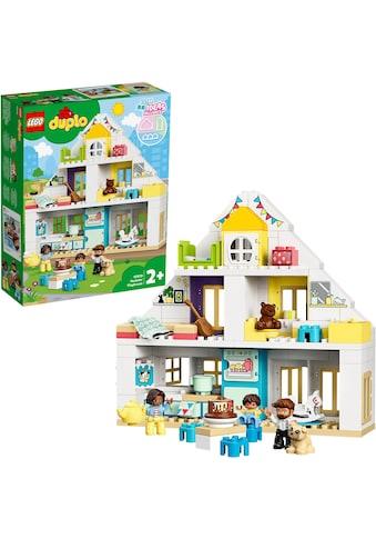 LEGO® Konstruktionsspielsteine »Unser Wohnhaus (10929), LEGO® DUPLO® Town«, (129 St.),... kaufen