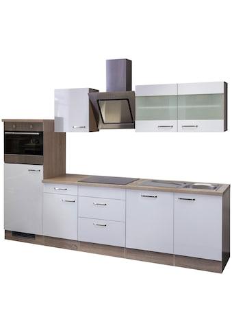 Flex-Well Küchenzeile »Florenz«, mit E-Geräten, Breite 280 cm kaufen