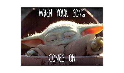 Komar Wandbild »Mandalorian The Child Music«, Disney-Star Wars, (1 St.), 50 x 40 cm... kaufen