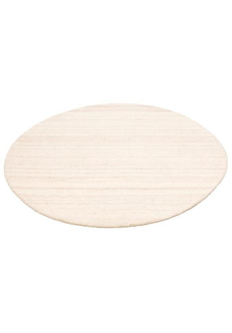 COUCH♥ Wollteppich »Tarik«, rund, 18 mm Höhe, reine Wolle, COUCH Lieblingsstücke, Wohnzimmer kaufen