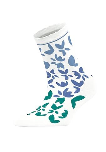 Esprit Socken »Colour Flower«, (1 Paar), mit weicher Baumwolle kaufen