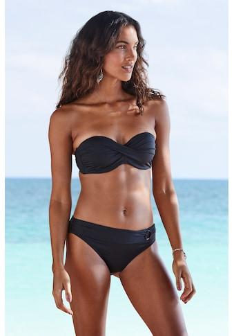s.Oliver Beachwear Bikini-Hose »Rome«, mit Umschlagbund kaufen
