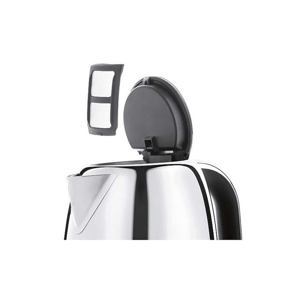 WMF Wasserkocher »Skyline«, 1,6 l, 3000 W, Cromargan®Edelstahl Rostfrei 18/10 poliert