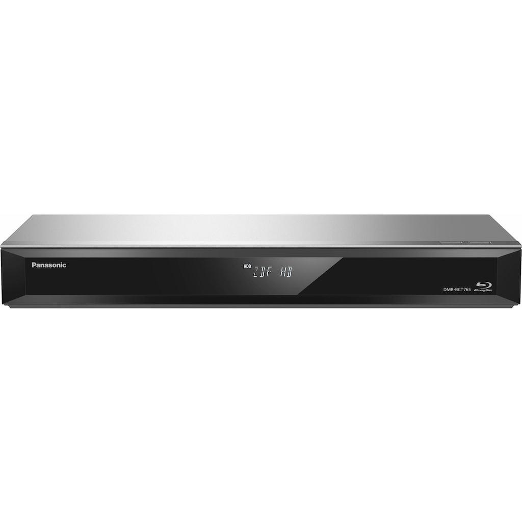 Panasonic Blu-ray-Rekorder »DMR-BCT760/765EG«, WLAN, 3D-fähig, 500 GB Festplatte, 3D-fähig