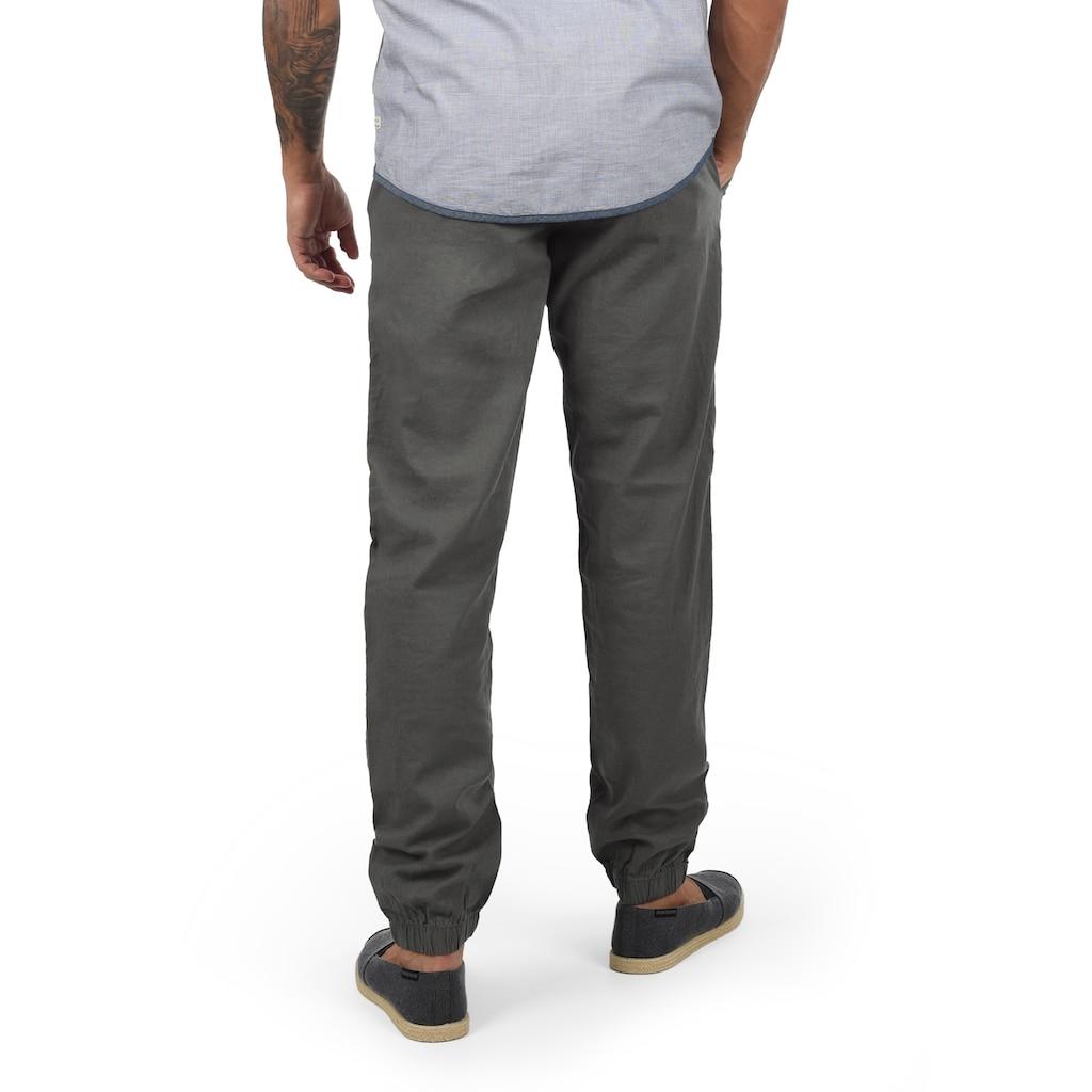 Blend Stoffhose »Lennik«, lange Hose mit Kordeln