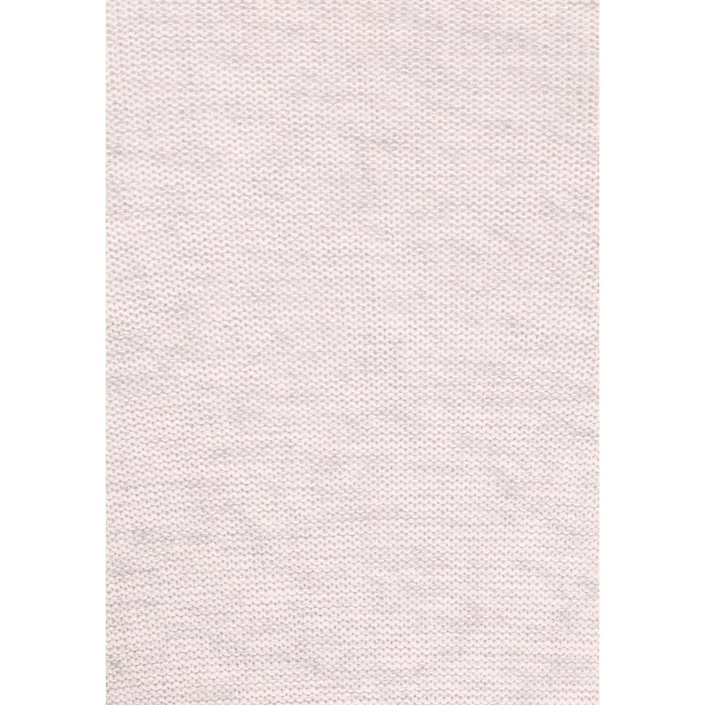 KangaROOS Strickjacke, in melierter Optik