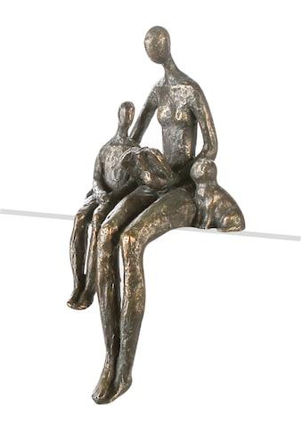 Casablanca by Gilde Dekofigur »Skulptur Lesestunde«, Dekoobjekt, Kantensitzer, Höhe 24... kaufen