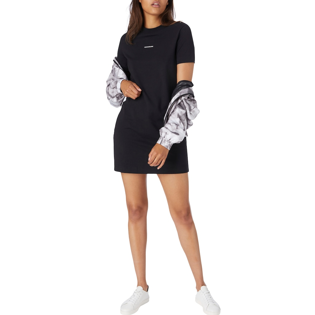 Calvin Klein Jeans Shirtkleid »MICRO BRANDING T-SHIRT DRESS«, mit Calvin Klein Jeans Micro Logo-Schriftzug