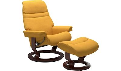 Stressless® Relaxsessel »Sunrise«, mit Classic Base, Größe S, Gestell Braun kaufen