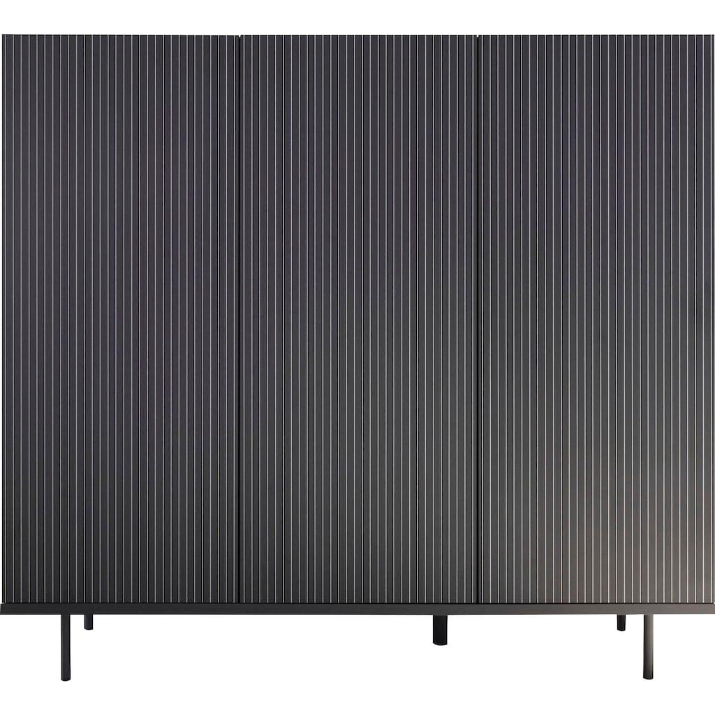 LC Highboard »Charme«, mit Siebdruck »Streifen«