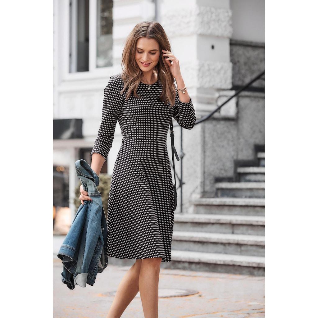 Aniston SELECTED Jerseykleid, im Retro-Style