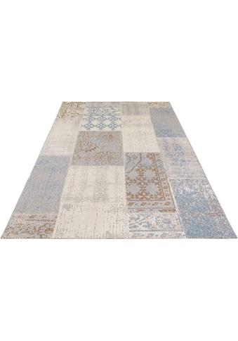 bougari Teppich »Symi«, rechteckig, 8 mm Höhe, In- und Outdoor geeignet, Wohnzimmer kaufen