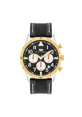 Rhodenwald & Söhne Chronograph »RWS004«, (1 tlg.), Armband aus Echtleder und Textil kaufen