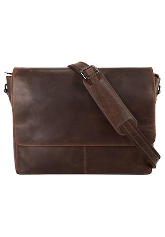 X-Zone Messenger Bag, vegetabil gegerbt kaufen