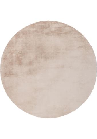 Arte Espina Hochflor-Teppich »Rabbit 100«, rund, 45 mm Höhe, Besonders weich durch... kaufen
