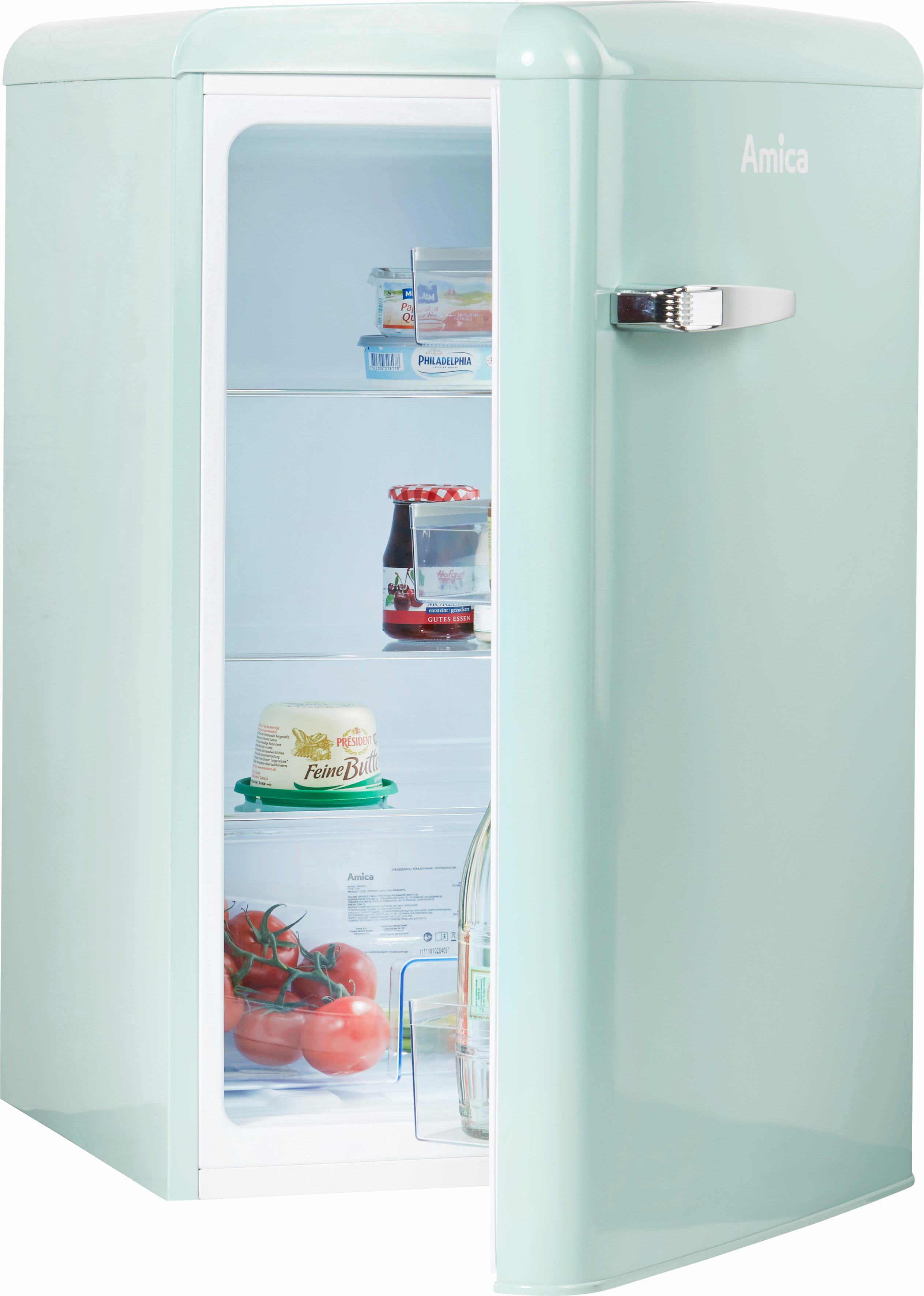 Amica Table Top Kühlschrank, 86 cm hoch, 55 cm breit im