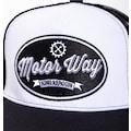 KingKerosin Baseball Cap »Motor Way«, mit Mesh-Einsatz