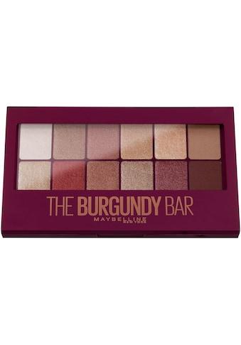 """MAYBELLINE NEW YORK Lidschatten """"The Burgundy Bar"""" kaufen"""
