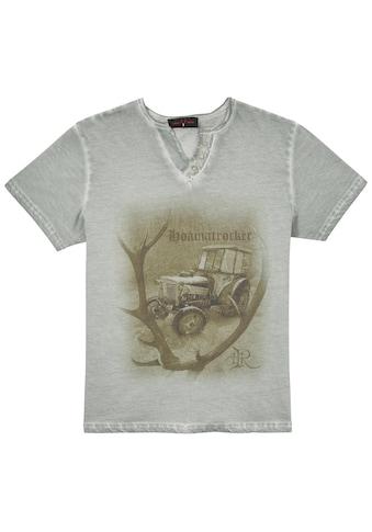 Country Line Trachtenshirt, Trachtenshirt Herren mit originellem Aufdruck kaufen