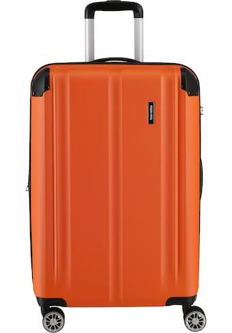 """travelite Hartschalen - Trolley """"City, 68 cm, orange"""", 4 Rollen kaufen"""