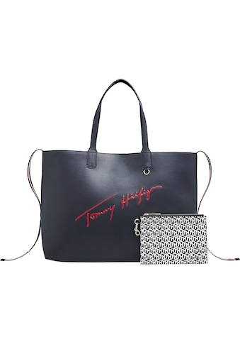 TOMMY HILFIGER Shopper »ICONIC TOMMY TOTE SIGNATURE« kaufen