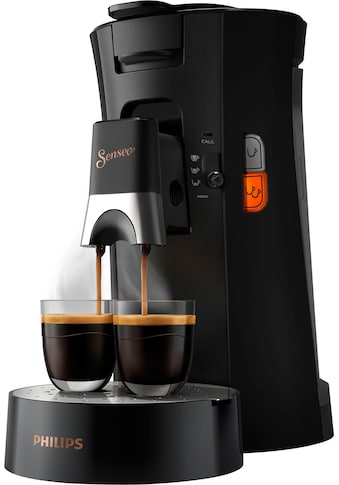 Senseo Kaffeepadmaschine »SENSEO® Select CSA240/60«, 80 Pads & Paddose gratis bei Registrierung kaufen