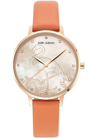 Julie Julsen Quarzuhr »Flamingo Apricot, JJW1006RGL-03« kaufen