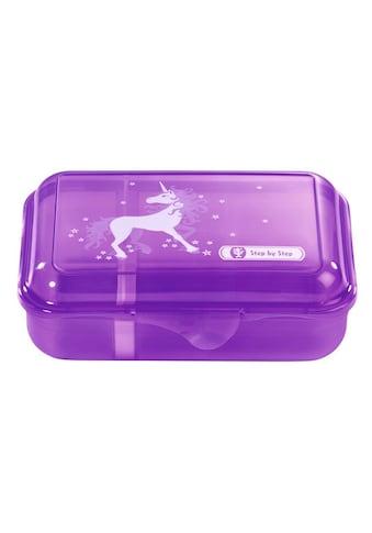 """Step by Step Lunchbox """"Unicorn Einhorn"""" Brotzeitbox, Flieder kaufen"""