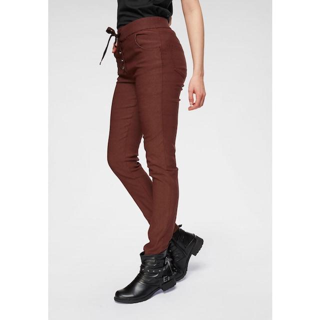 Boysen's 7/8-Hose, mit dekorativem Knopfverschluss
