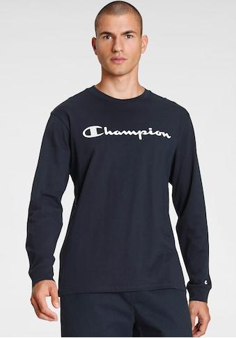 Champion Langarmshirt »Crewneck Long Sleeve T-Shirt« kaufen