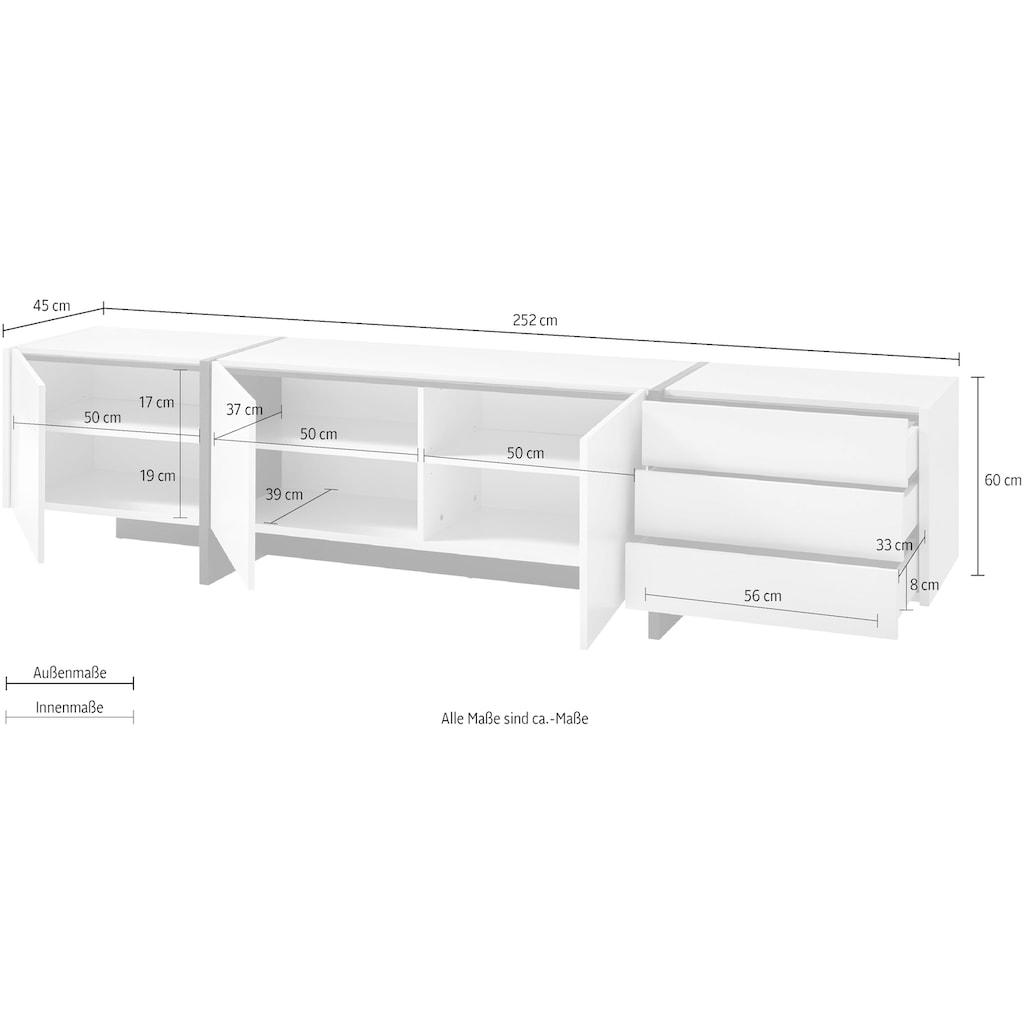 INOSIGN Lowboard »CAiO«, Höhe ca. 60 cm