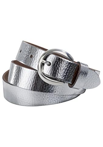 Gürtel im Metallic - Look kaufen