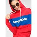 KangaROOS Hoodie, mit Markennamen auf der Brust